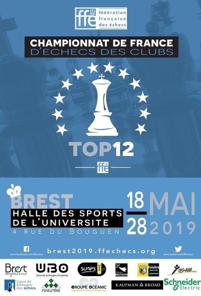 TOP 12 à Brest 1